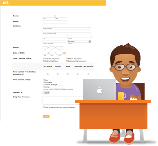 Custom Forms for Web Designers