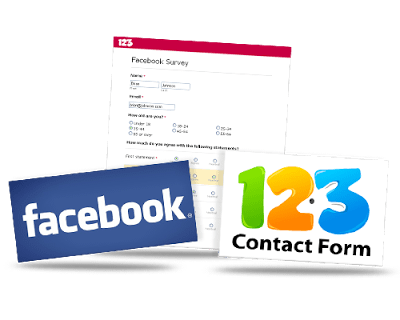 Free Facebook Surveys App - 123ContactForm
