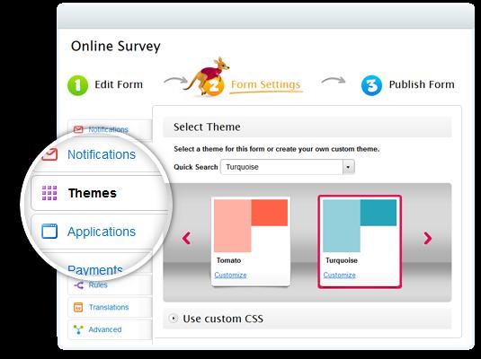 design a survey online free